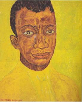 James Baldwin portrait 1965